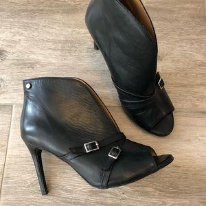 Shoes - Peep Toe Booties by Kazar